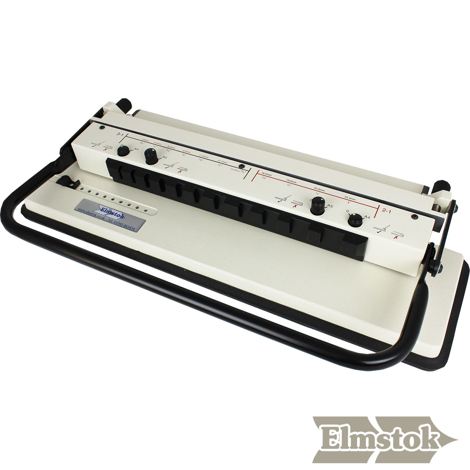ELMPRO PB46-CAL A3/A4/A5 Calendar Wire Punch & Closer