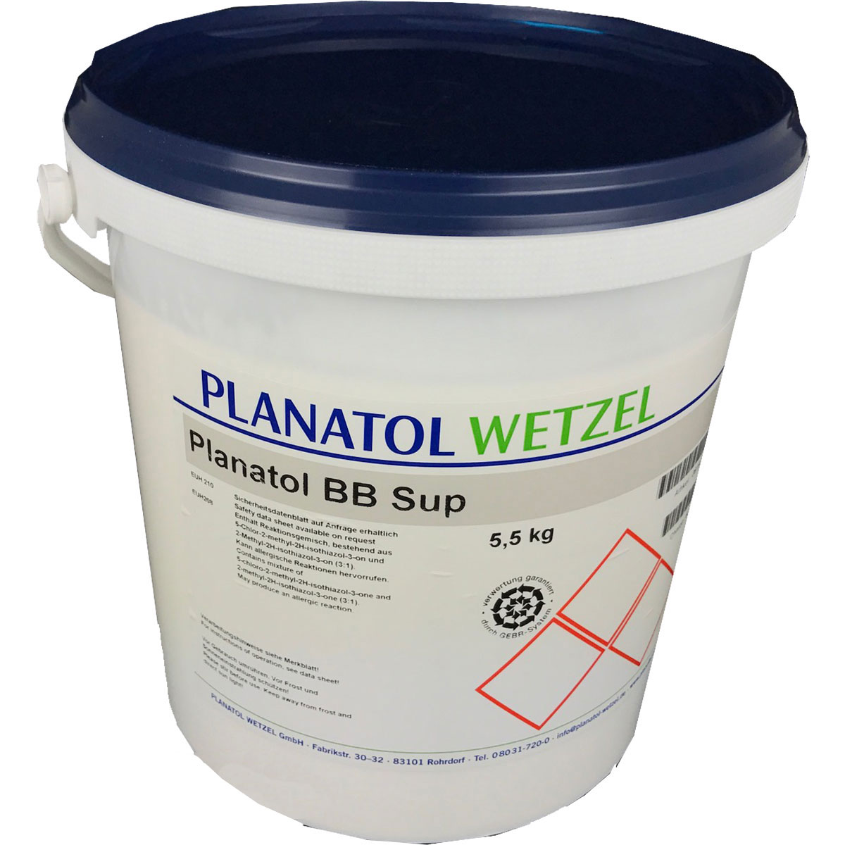 Planatol BB Superior White Padding Glue 5.5kg
