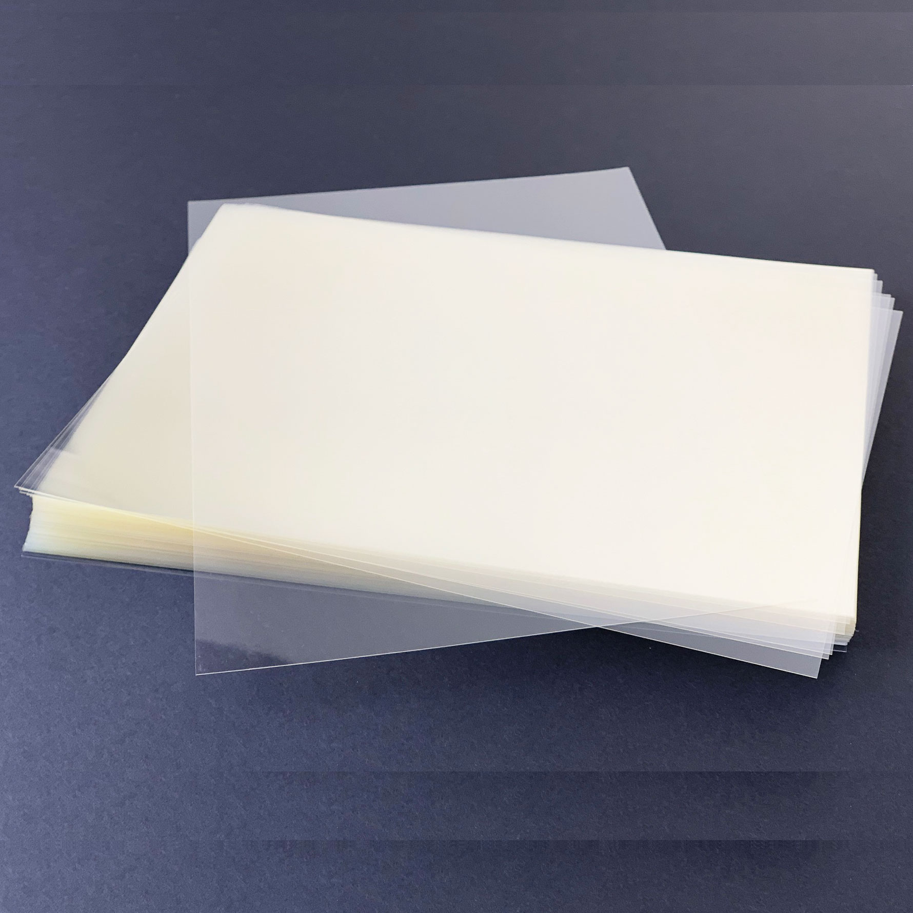 PET Clear A4 Face Shield Sheets 175Mic - Bulk Pack 1000