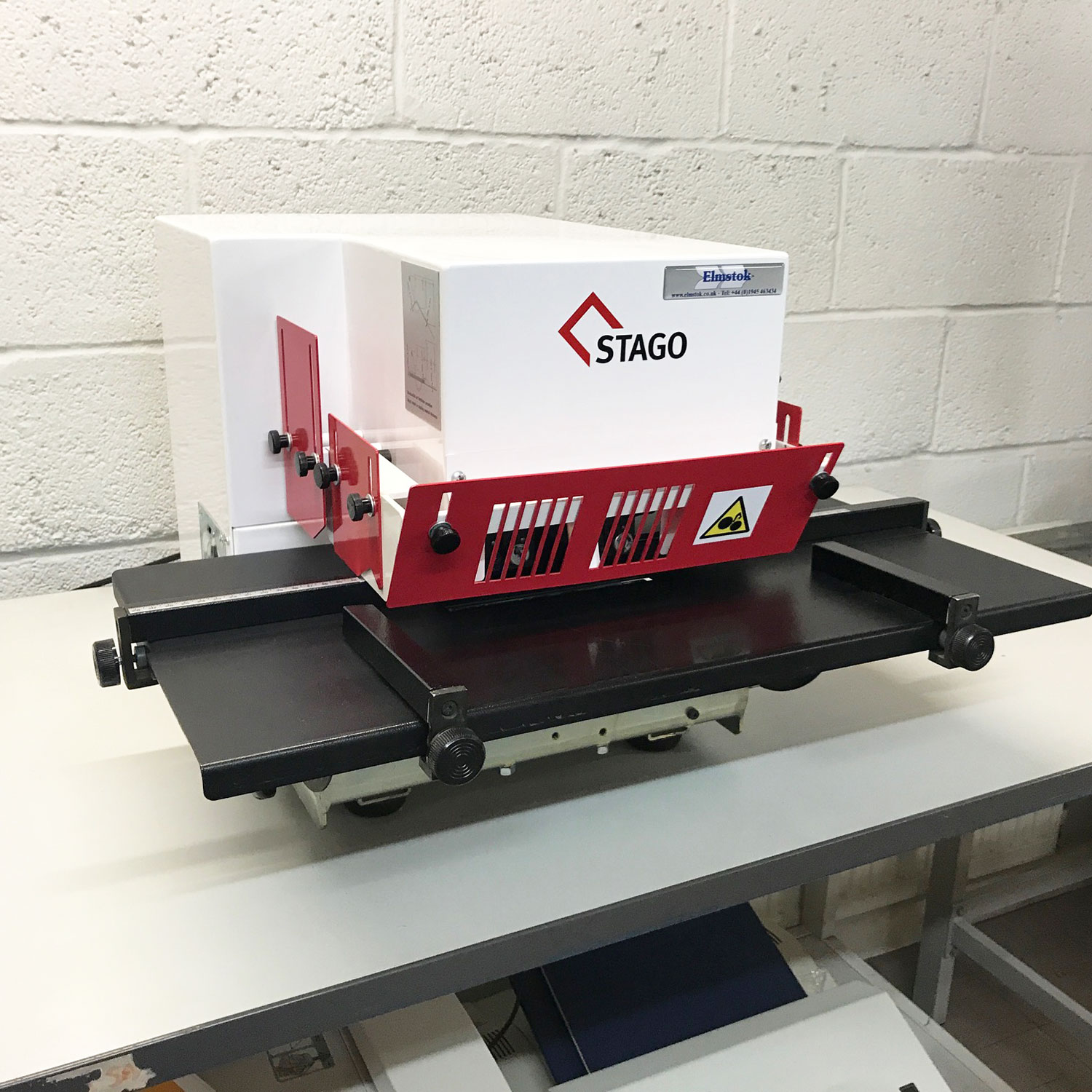 Pre-used Stago HM15/2 Twin-Head H/Duty Stapler