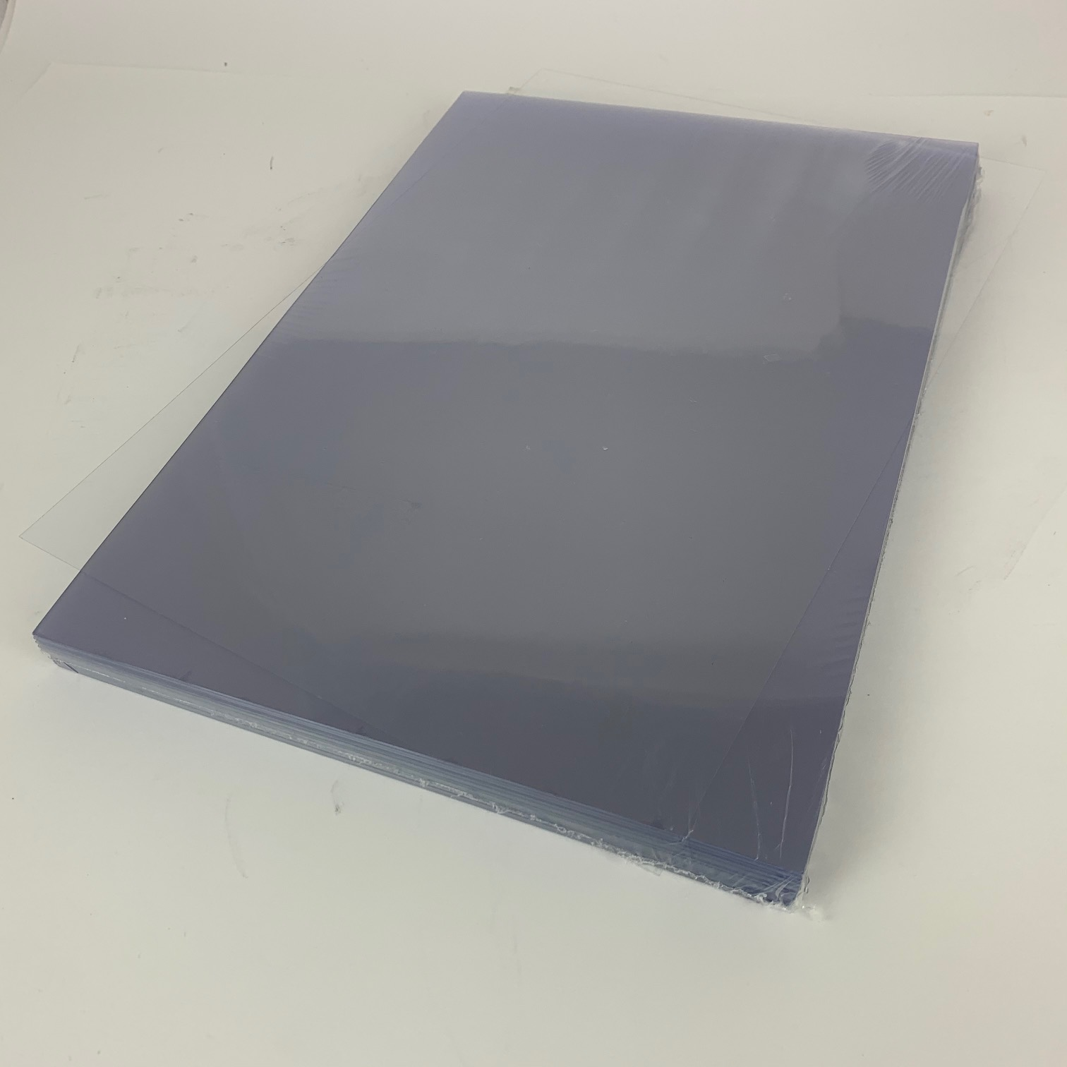 Clear PVC 240Micron A3 Protective PPE Face-Shield Sheets (100)