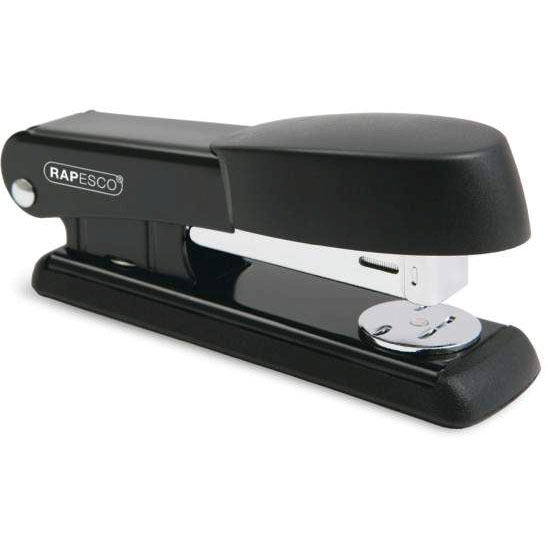 Rapesco Bowfin Half Strip Black Stapler