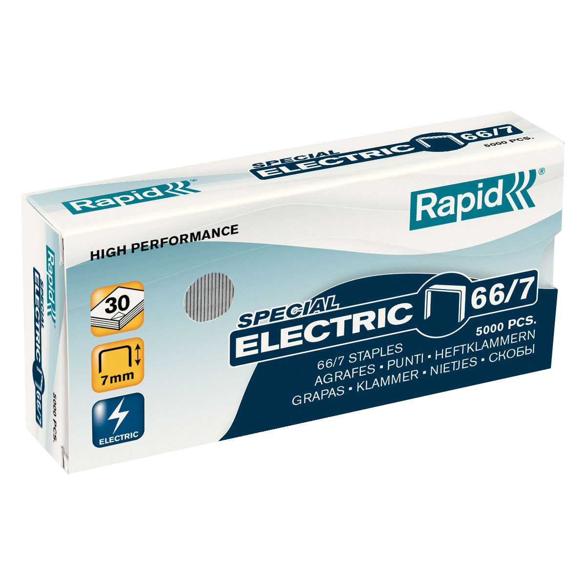 Trade Box Rapid 66/7 Staples (12 Packs)