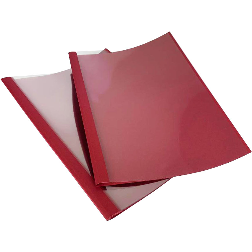 Esselte A4 Red Burgundy 1.5mm Thermal Binding Covers (100)