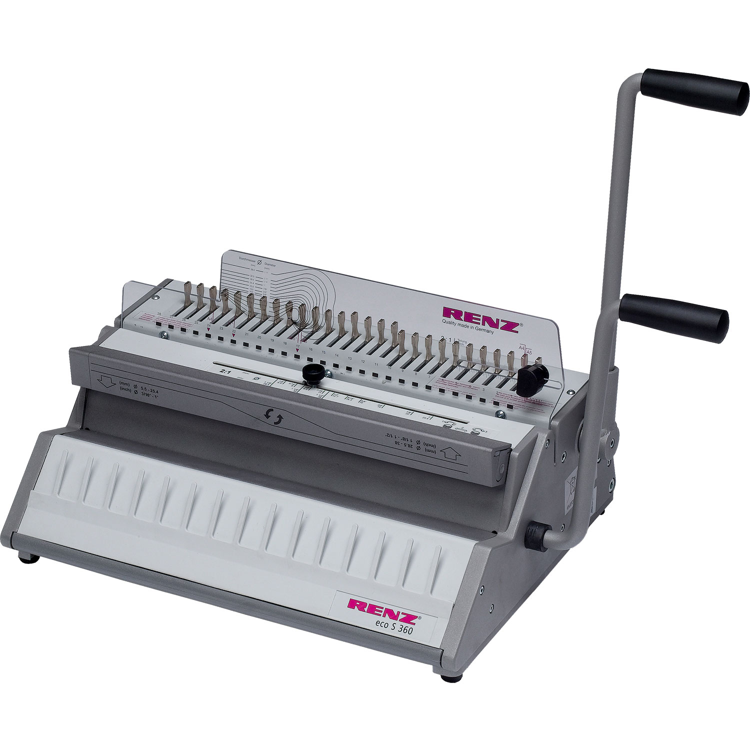 Renz ECO-S 360 2:1 Manual Binding Machine