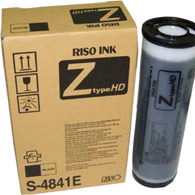 Riso HD Z-Type Black Ink S-4841/7124E (2 Tubes)