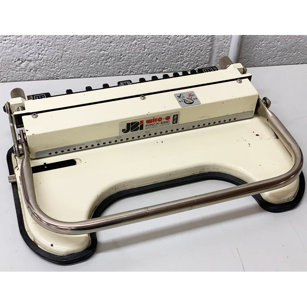 Second-hand James Burn PB34 Wire-O Binding Machine