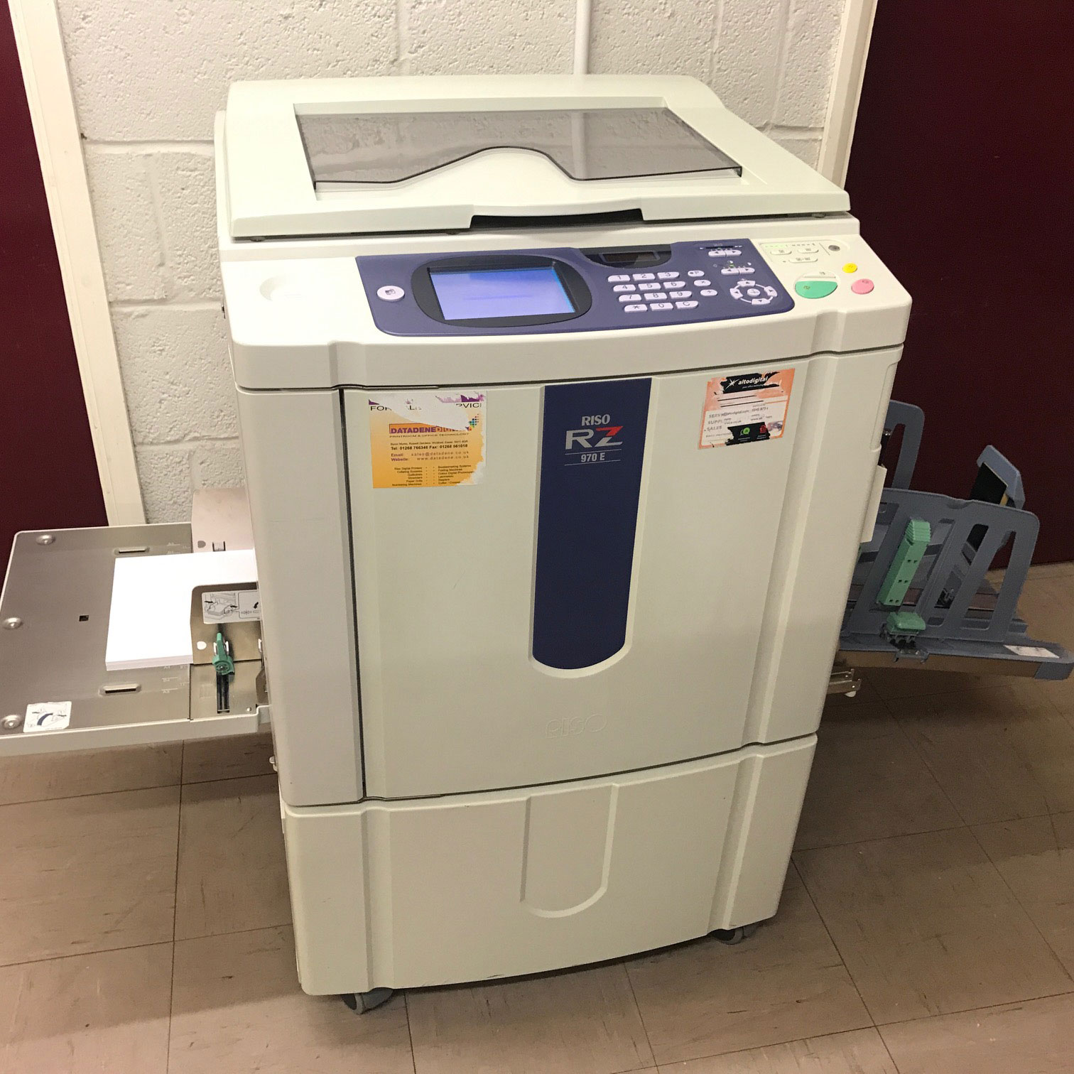 Pre-used Riso RZ 970E Duplicator Copier Machine