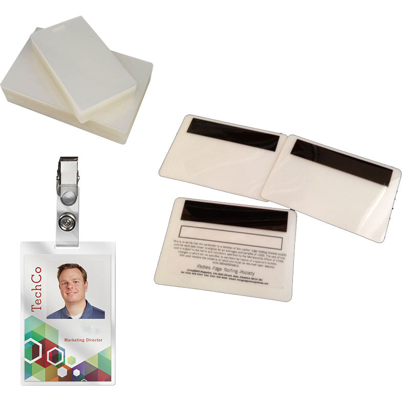 ID & Security Laminating Pouches