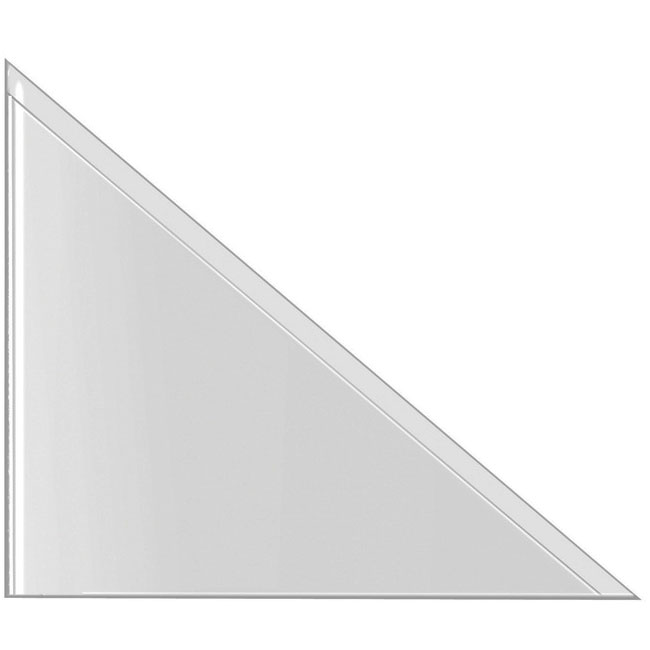 Self-Adhesive Triangle Corner Pockets 100mmx100mm (300)