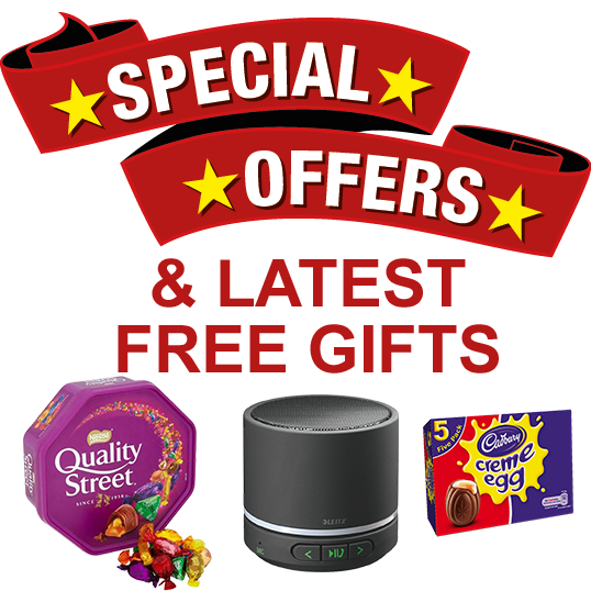 Special Offers & FREE Gifts