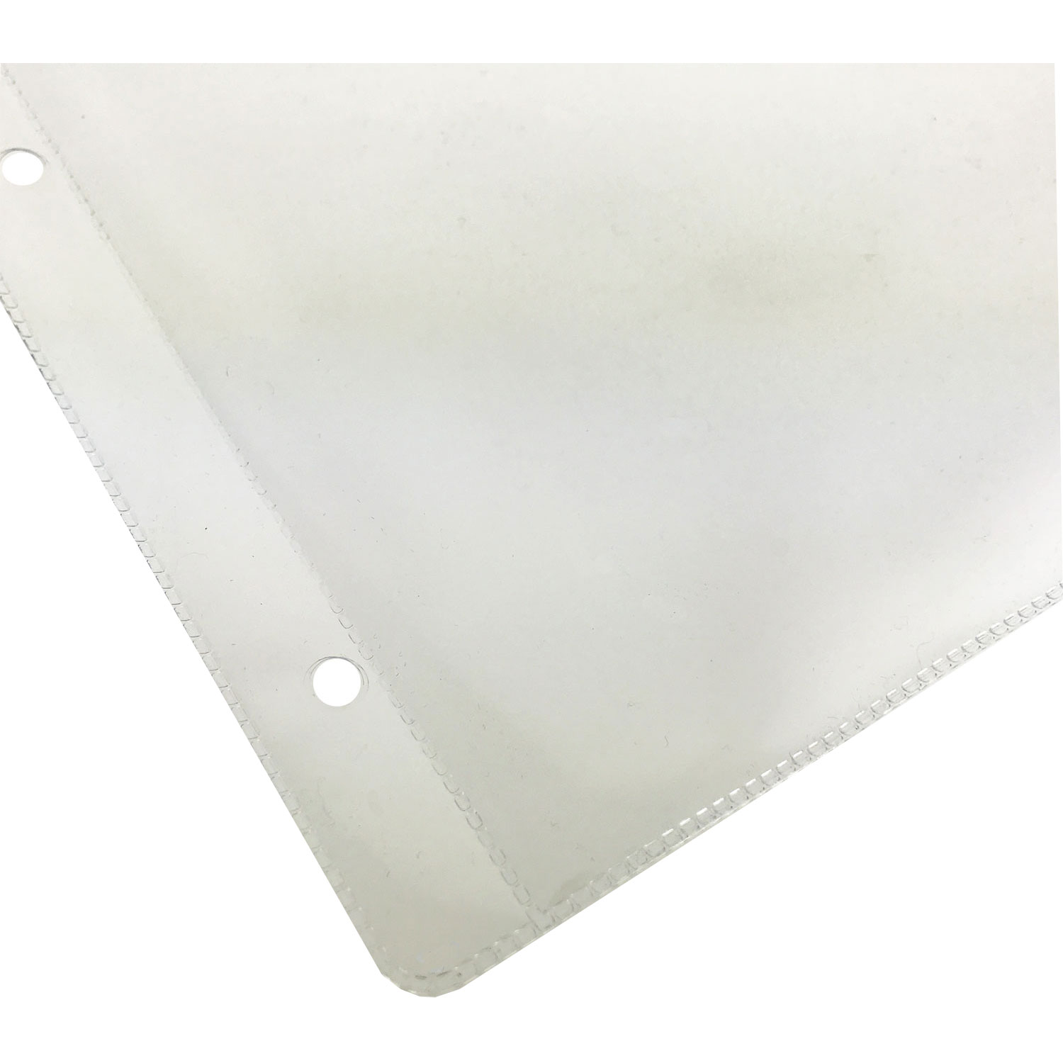 KC200100SCP4 4-Hole Punched Heavy-Duty Plastic Pockets