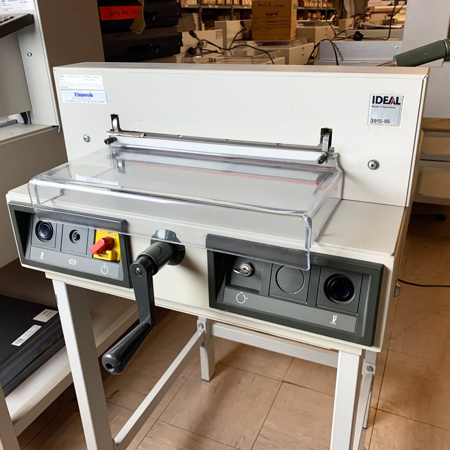 Used IDEAL 3915-95 Electric Desktop Guillotine - 2214003