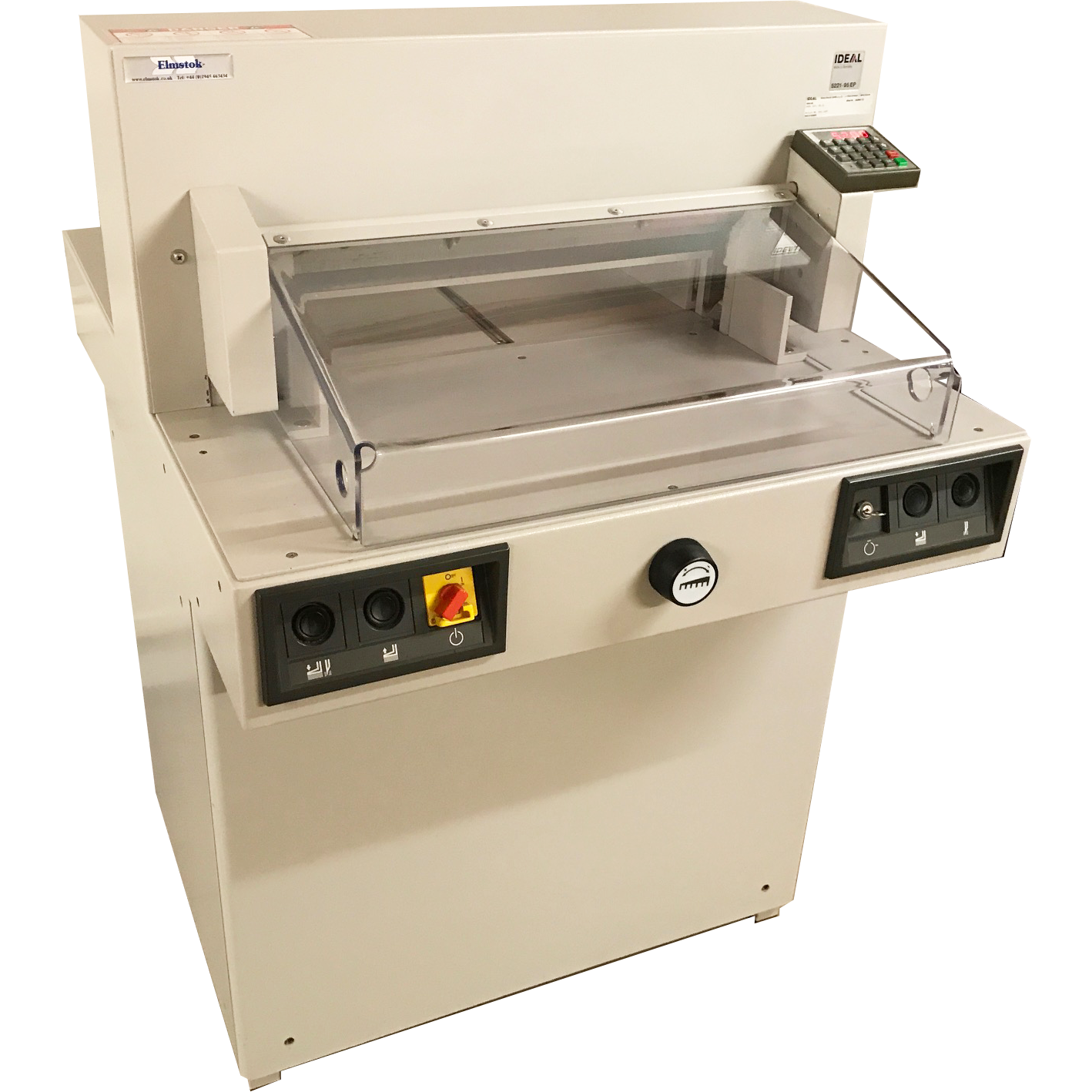 Pre-used IDEAL 5221-95EP 9-Program Guillotine - 2007