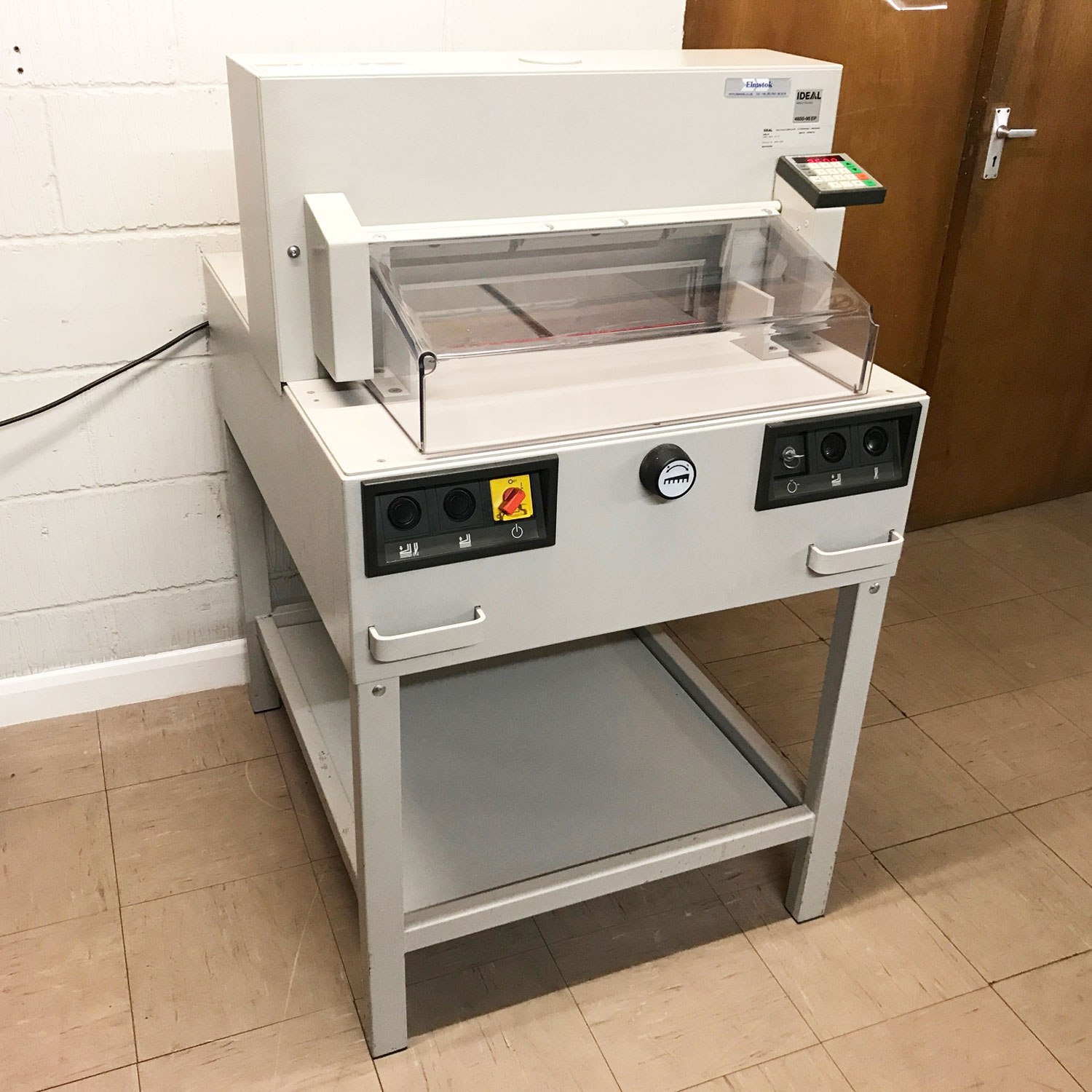 Pre-owned IDEAL 4850-95EP 99-Program Guillotine