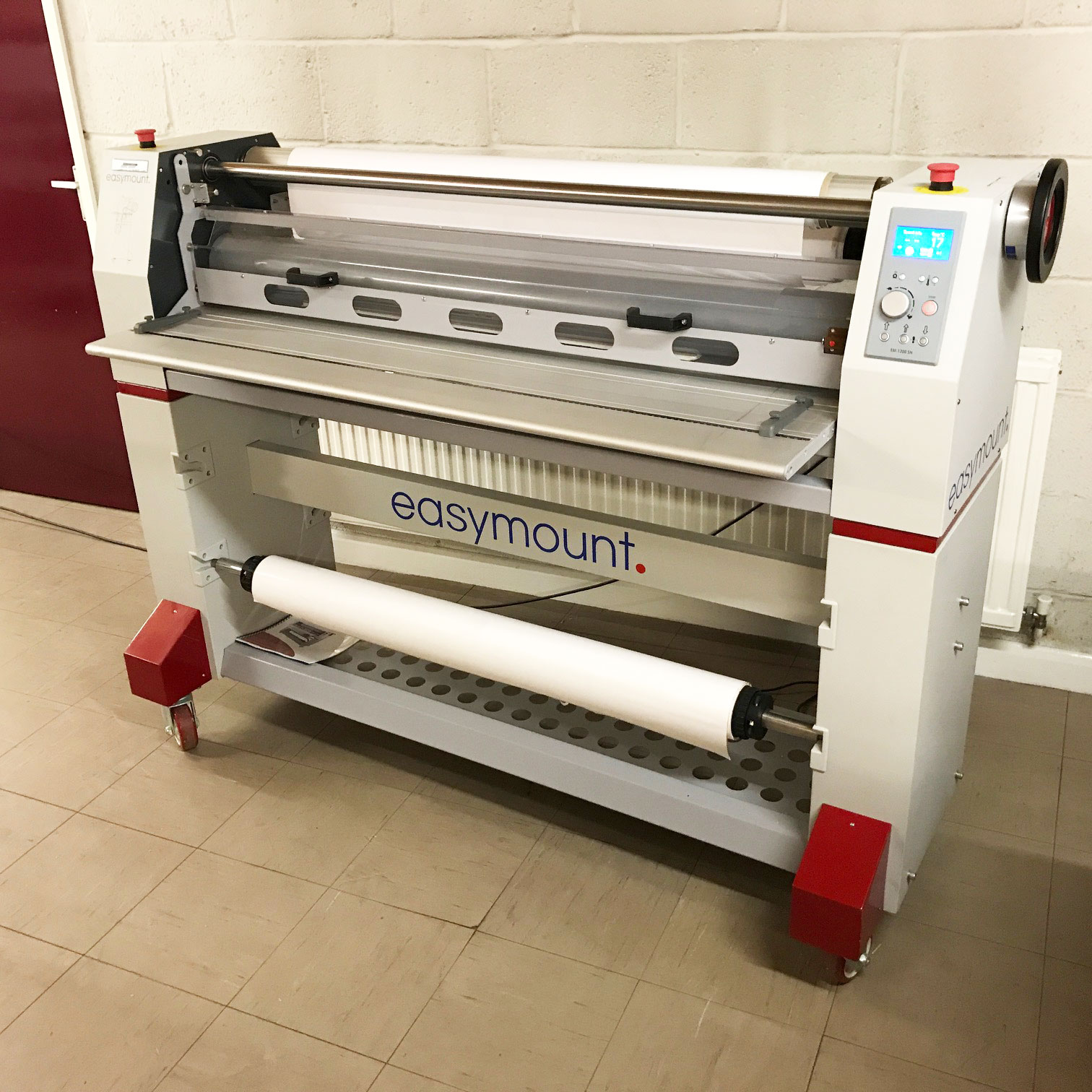 Pre-used Easymount 1200SH Hot and Cold Roll Laminator