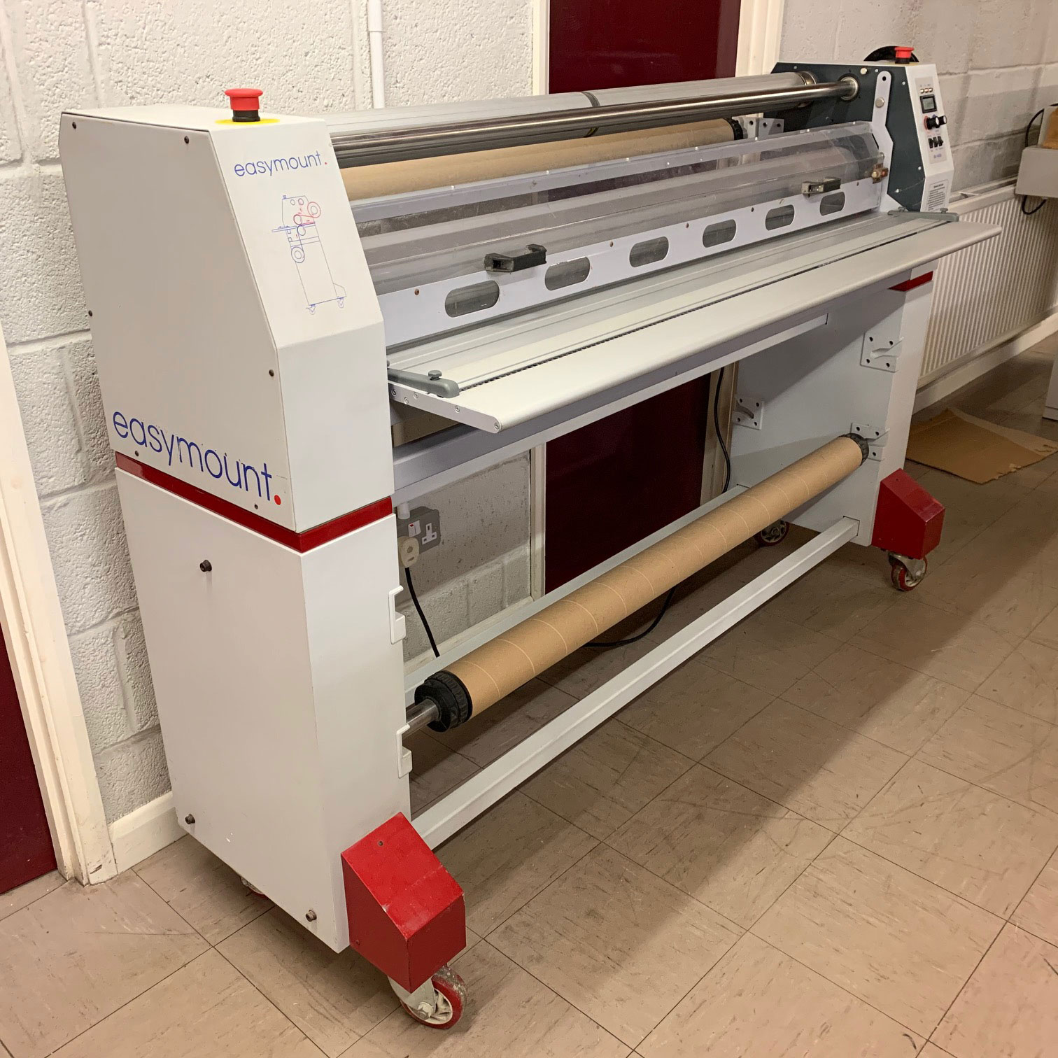 Pre-owned Easymount 1400SH Wide-Format Hot Cold Roll Laminator