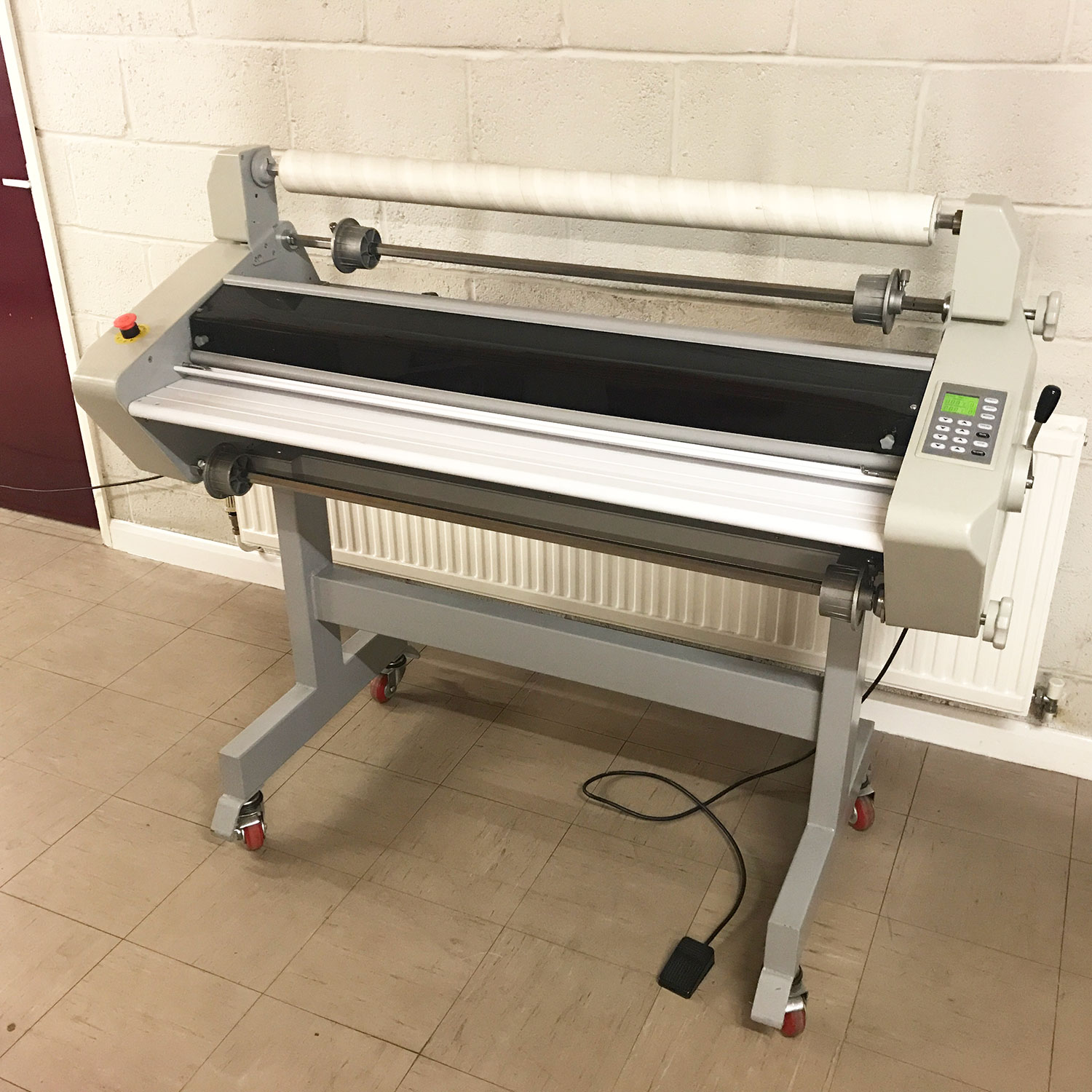 Pre-used GMP Excelam 1100RS Hot & Cold Roll Laminator