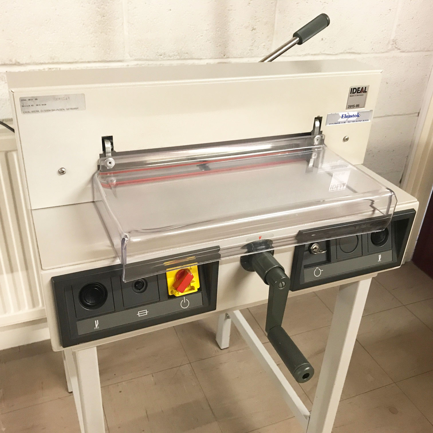 Second-Hand IDEAL 3915-95 Electric Guillotine
