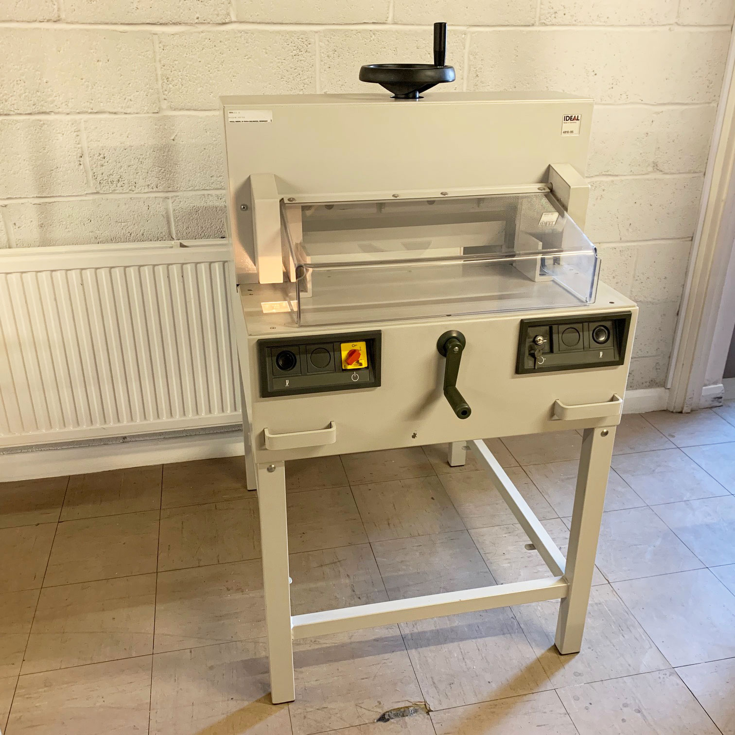 Used/Refurbished IDEAL 4810-95 Electric Guillotine - 1956468