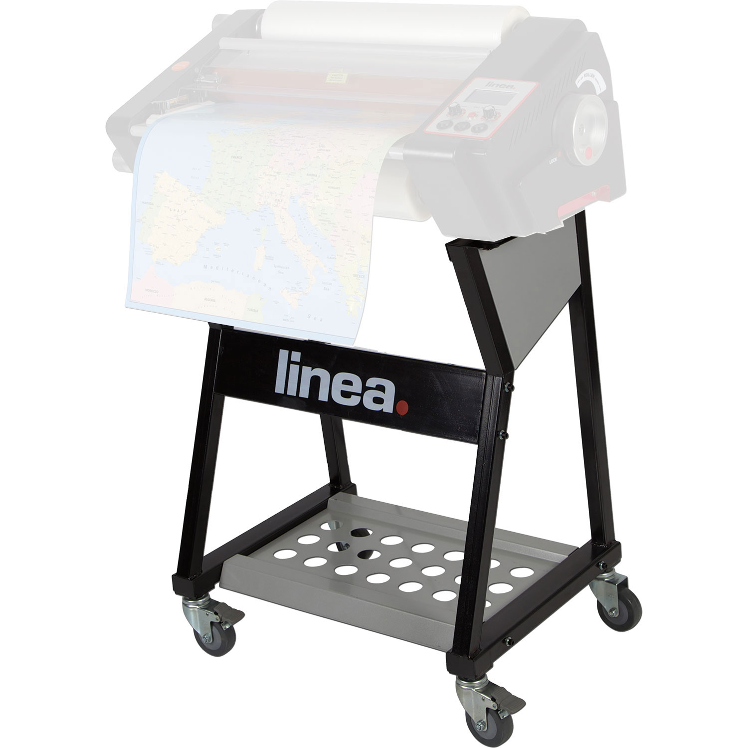 Floor-Stand For Linea DH460 Roll-fed Laminator