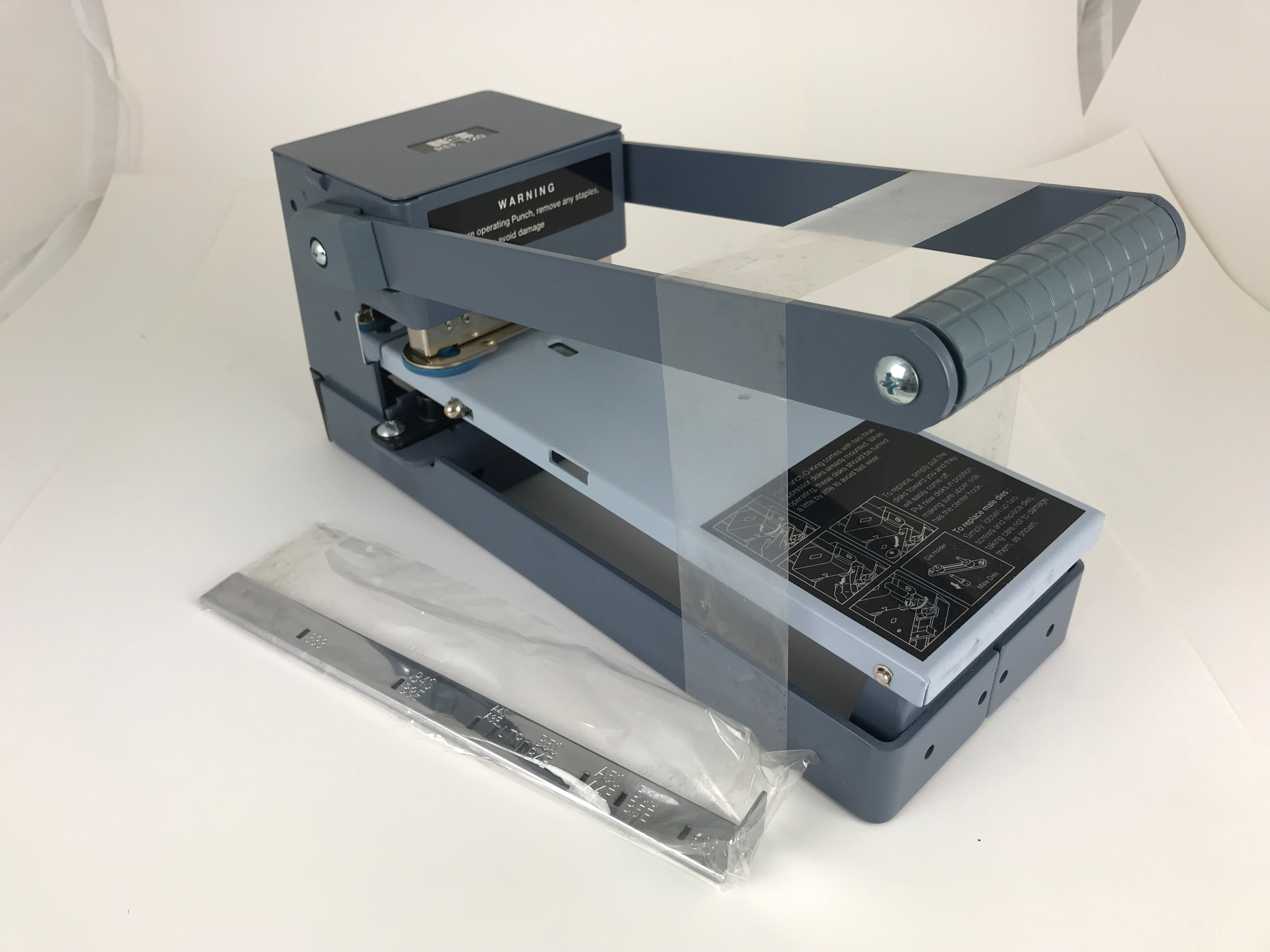 Web 120 2-Hole Paper Punch