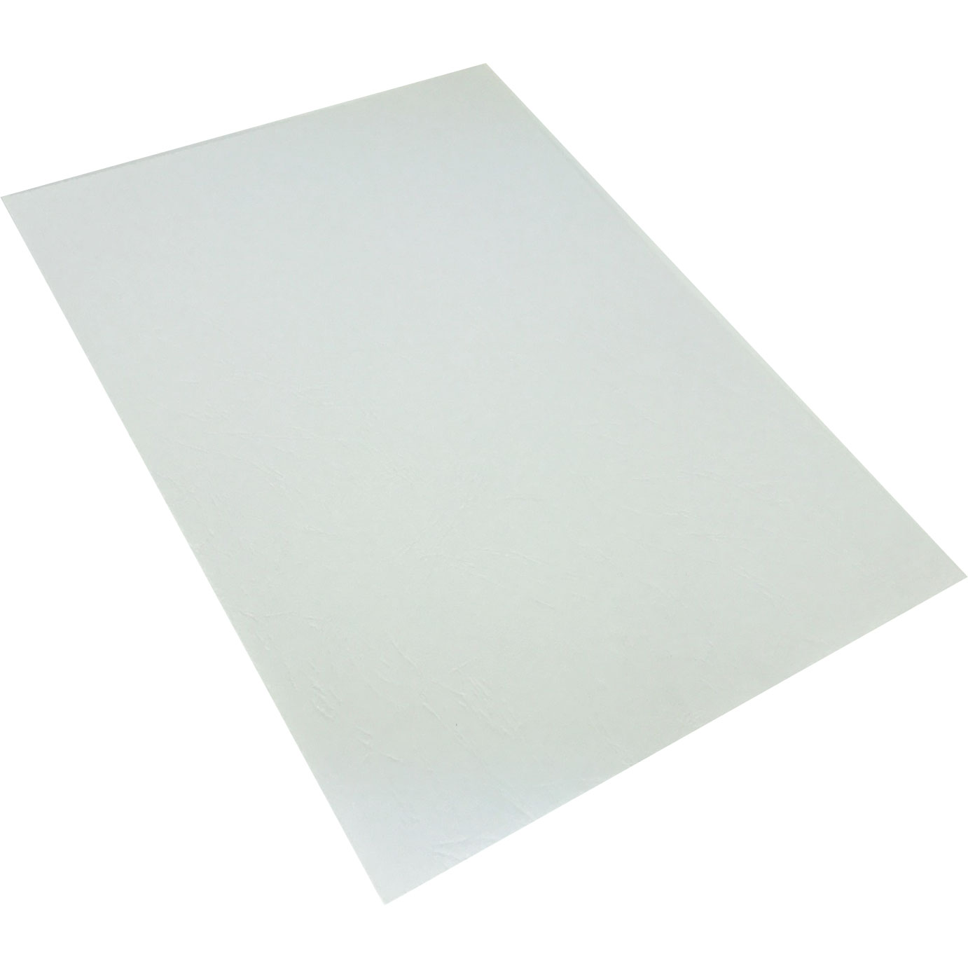 Leitz A4 White Leathergrain Binding Cover Boards (1000)