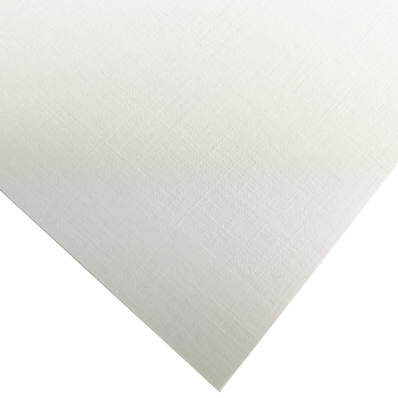 Leitz A4 Plain Linen White Binding Report Cover Boards