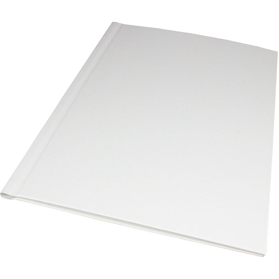 Oversized White A4 Impressbind Covers (10)